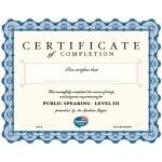 SL Level III Certificate