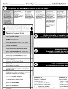 Evaluator form thumbnail