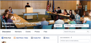 Facebook Chairpersons Group