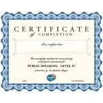 SL Level IV Certificate